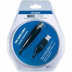 ALESIS MICLINK CABLE XLR USB