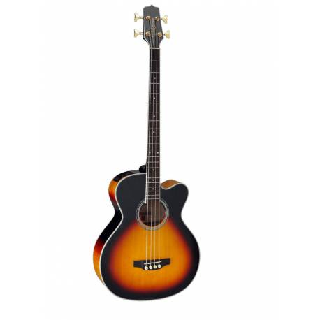 TAKAMINE ACOUSTIC BASS GB72 E/A CUTWAY - BROWN SUNBURST