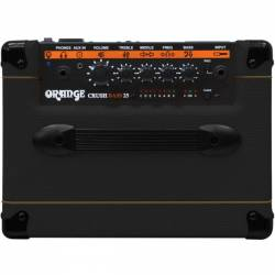 ORANGE COMBO BAJO CRUSH BASS 25BX BK negro