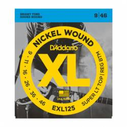 D'ADDARIO EXL-125 EXTRA TOP REGULAR